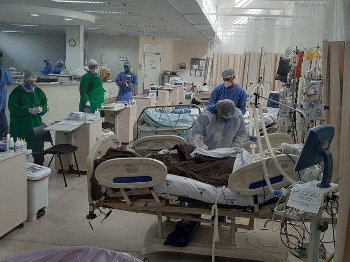Hospital Jayme dos Santos Neves é destaque nacional contra Covid-19 — Foto: Governo do Estado/Divulgação