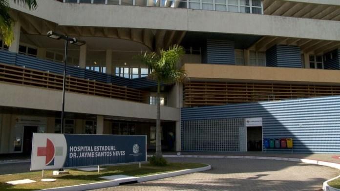Hospital Estadual Dr. Jayme Santos Neves, na Serra