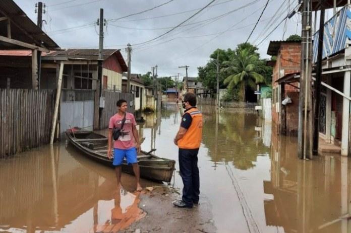Governo Federal apoia o Acre no atendimento a famílias atingidas por enchentes