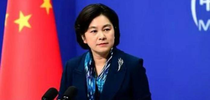Hua Chunying, porta-voz da Chancelaria chinesa