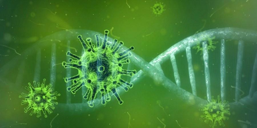 Imagem vírus molécula Covid-19 — Foto: Peter Linforth/Pixabay
