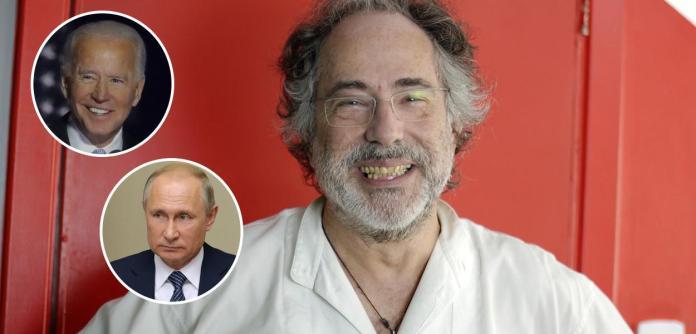Joe Biden, Vladimir Putin e Pepe Escobar