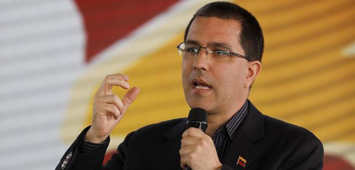 Jorge Arreaza, chanceler da Venezuela