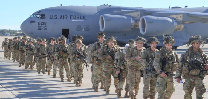 Tropas dos EUA no Iraque
