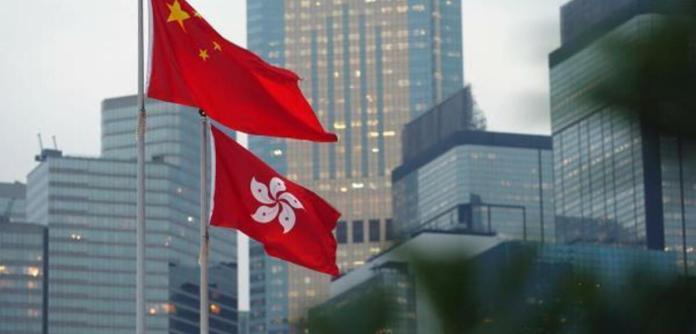 China e Hong Kong, bandeiras