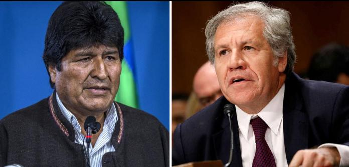Evo Morales e Luis Almagro