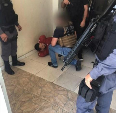 Homem apontado como um dos traficantes mais perigosos do ES foi preso