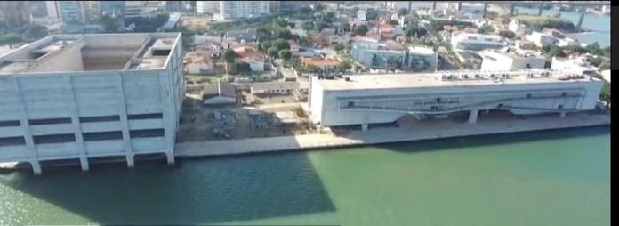 Obras do Cais das Artes, em Vitória, se arrastam há 9 anos