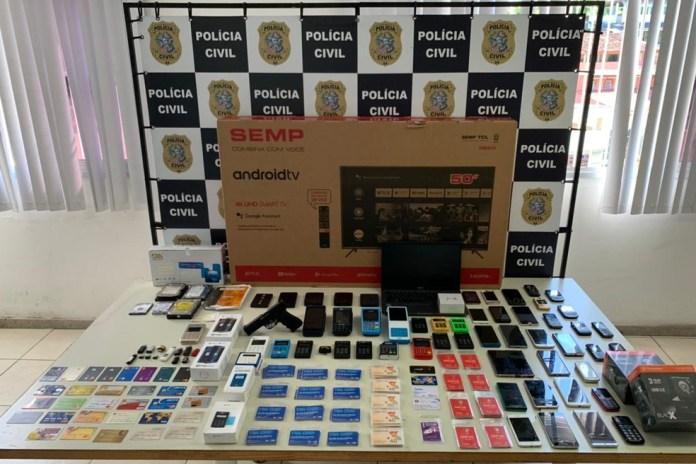 Material apreendido pela Polícia Civil em apartamento de engenheiro — Foto: Divulgação/Polícia Civil