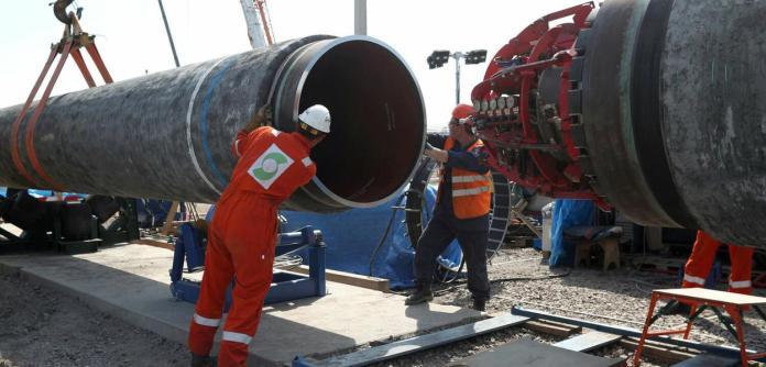 Construção do Nord Stream 2