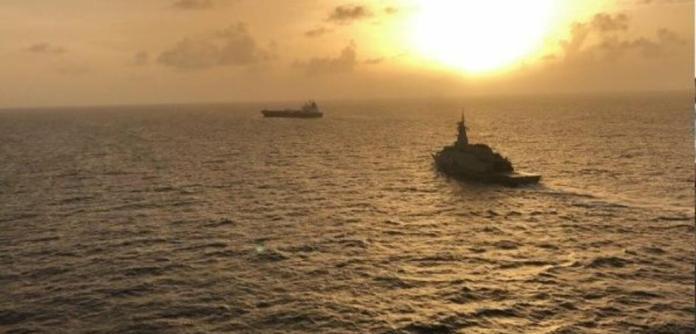 """O navio iraniano """"Cravo"""" entra nas águas territoriais venezuelanas carregando combustíveis"""