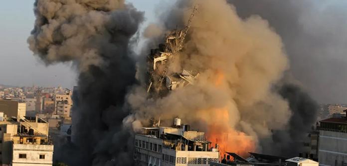 Bombardeio na Faixa de Gaza