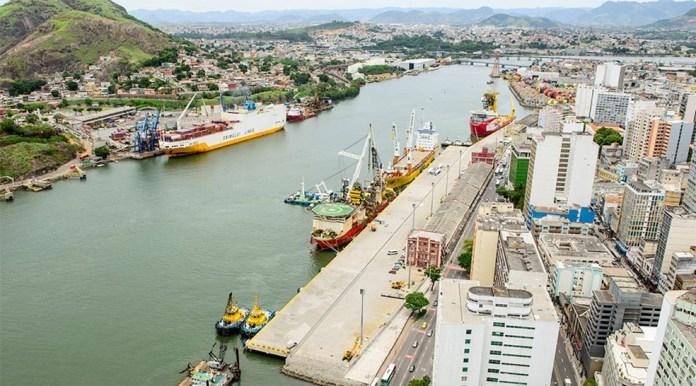 Porto de Vitória — Foto: Divulgação/Codesa