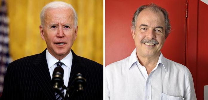 Joe Biden e Aloizio Mercadante