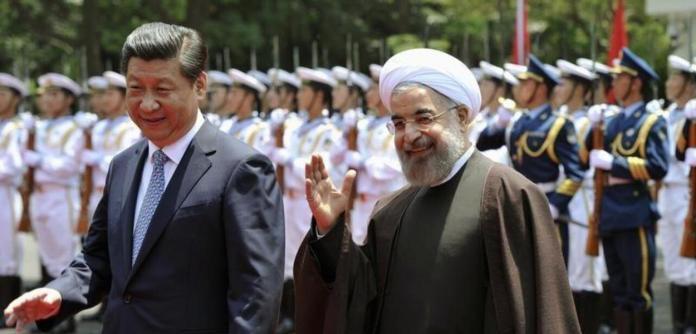 Xi Jinping e Hassan Rohani