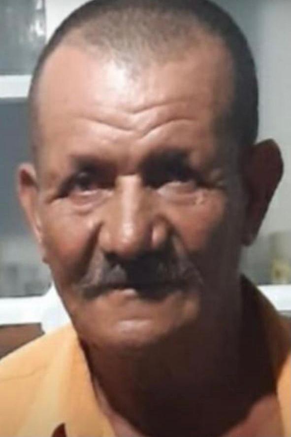Domingos Lima de Jesus, 68 anos, morto em Central Carapina, na Serra. — Foto: Divulgação/Polícia Civil
