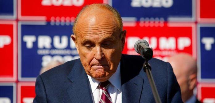 Advogado de Trump Rudy Giuliani 07/11/2020