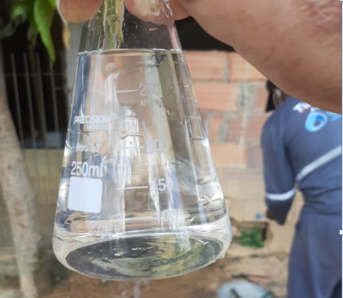 Cesan diz que fornecimento de água foi normalizado, no ES — Foto: Divulgação/ Cesan
