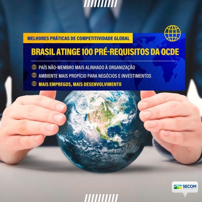 Brasil atinge 100 instrumentos de aderência à OCDE