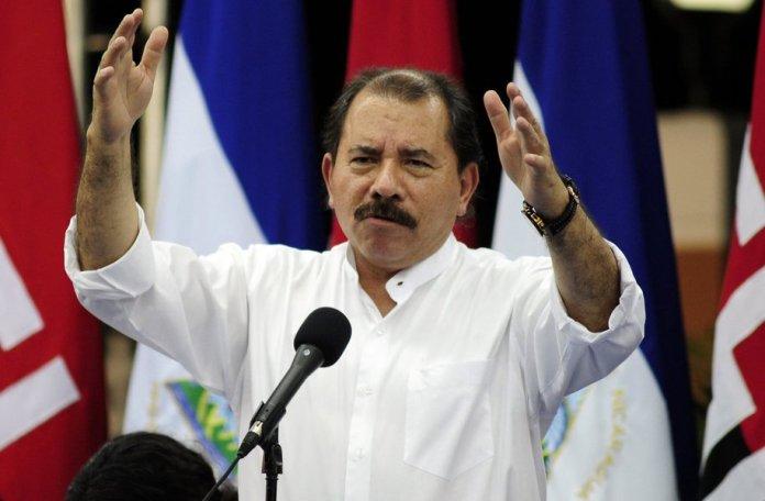 Daniel Ortega, presidente da Nicarágua