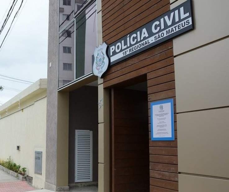 Suspeita foi encaminhada para a Delegacia Regional de São Mateus no ES — Foto: Divulgação/Sesp