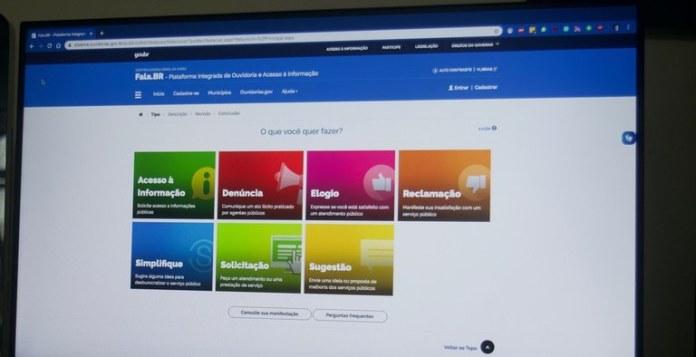 Plataforma reúne serviços de pedidos de informações e ouvidoria em um único endereço