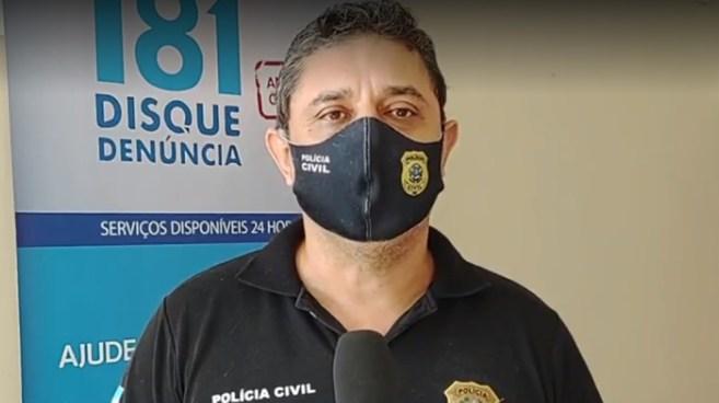 Delegado Fabrício Lucindo, da Polícia Civil de Linhares