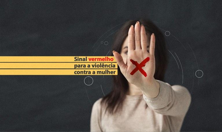 Sancionada lei do Sinal Vermelho contra violência doméstica