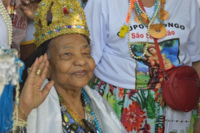 Rainha do Congo do Espírito Santo, Astrogilda Ribeiro morre aos 87 anos — Foto: Divulgação/ Prefeitura de Aracruz