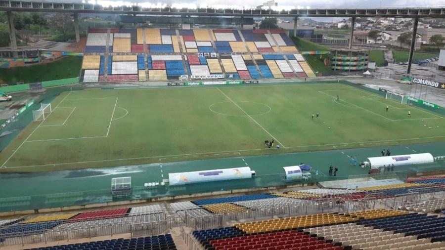 Estádio Kleber Andrade — Foto: Sidney Magno Novo