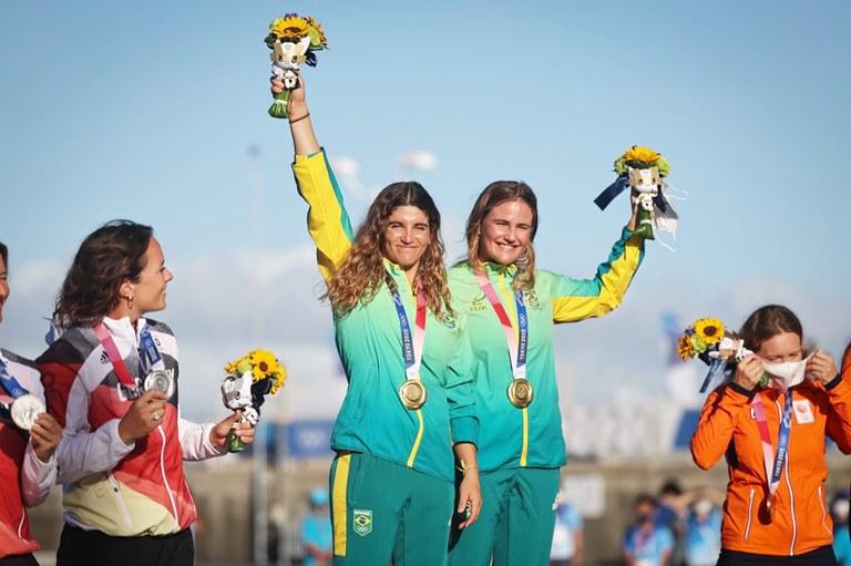 Atletismo, vela e boxe garantem mais medalhas para o Brasil