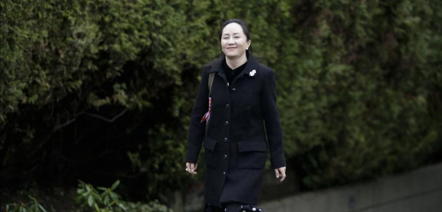 A dietora executiva da Huawei, Meng Wanzhou