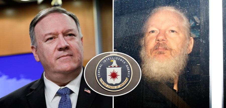 Mike Pompeo e Julian Assange