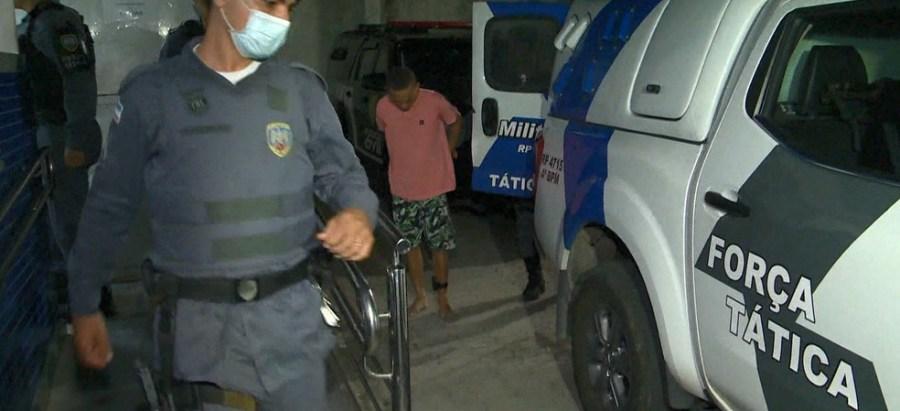 Dois homens são presos por tráfico após menos de 2 semanas na rua no ES