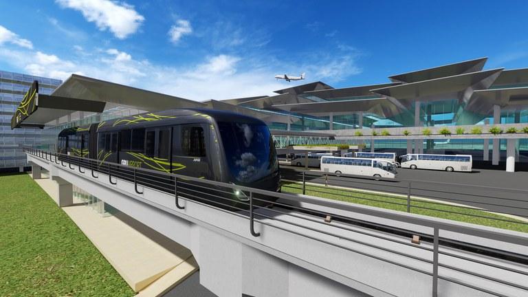 People Mover: Governo Federal viabiliza ligação ferroviária ao Aeroporto de Guarulhos