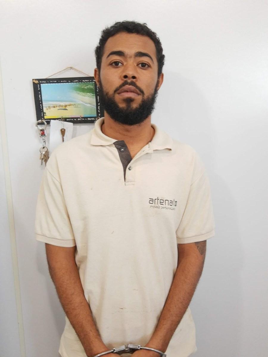 Emanuel Robson Chagas Silva, conhecido como 'Negão da Janal' — Foto: Divulgação/Polícia Civil
