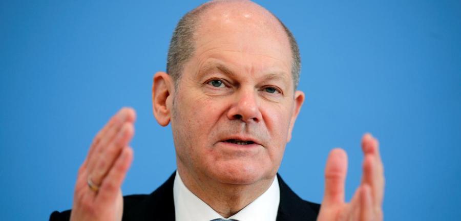 Olaf Scholz, líder do Partido Social Democrata da Alemanha