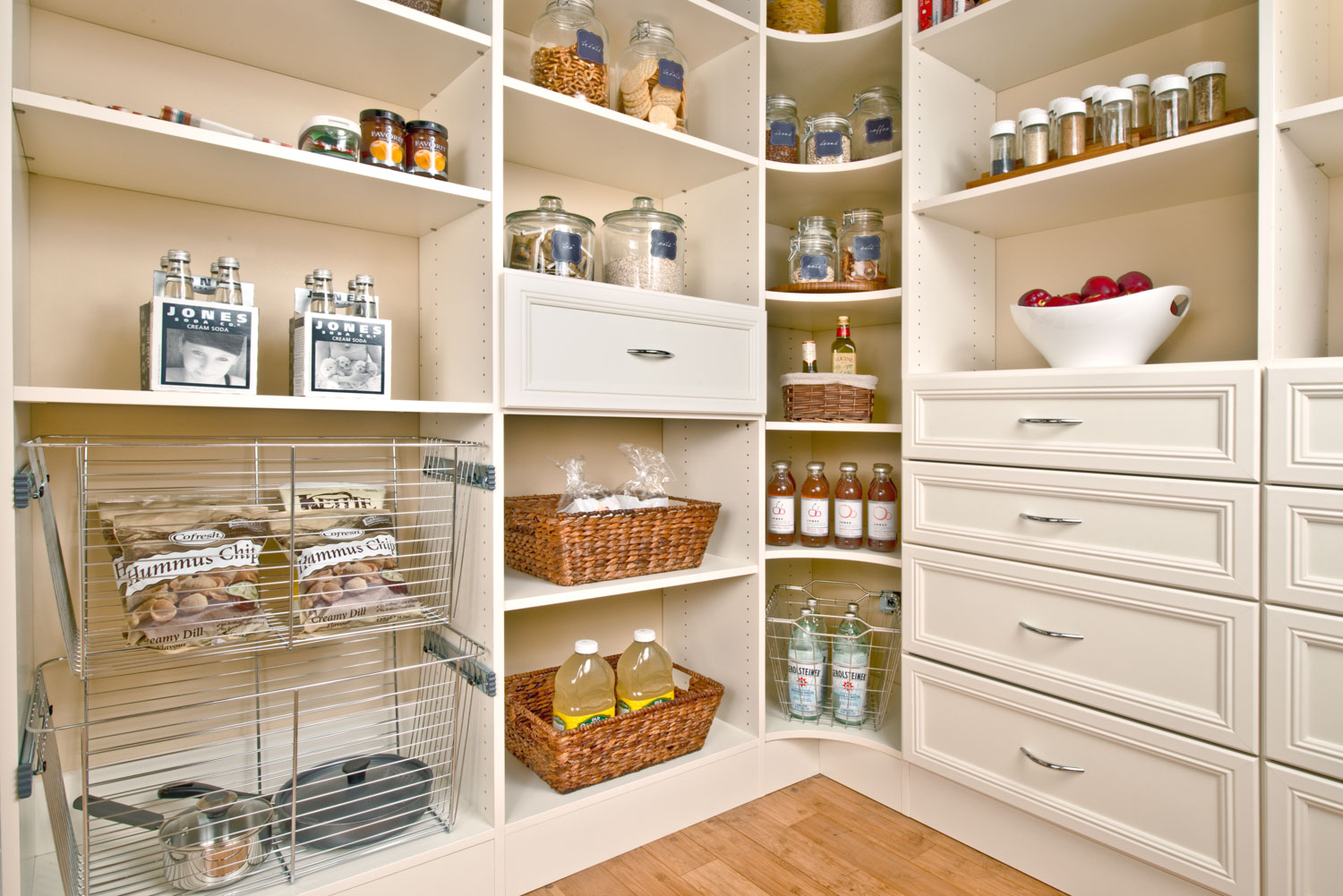 kitchen pantry shelving systems las vegas hotels with kitchens in rooms organized living inspiration view full gallery 12 more