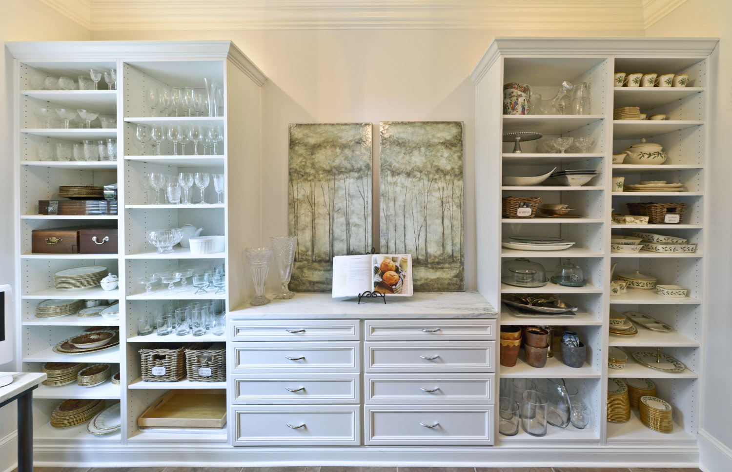 kitchen pantry shelving systems base cabinet depth organized living inspiration view full gallery 12 more