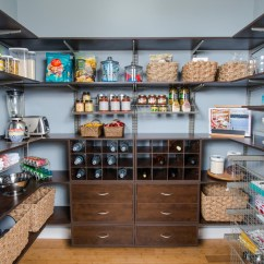 Kitchen Pantry Shelving Systems Cabinet Lowes Organized Living Inspiration