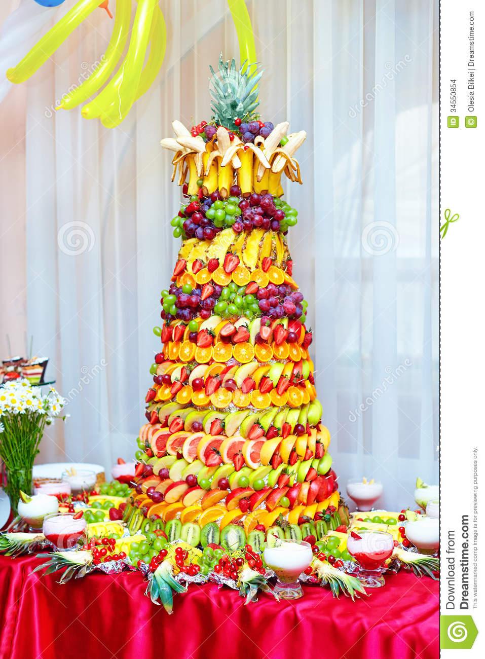 Use Fruits as a Cake Decoration