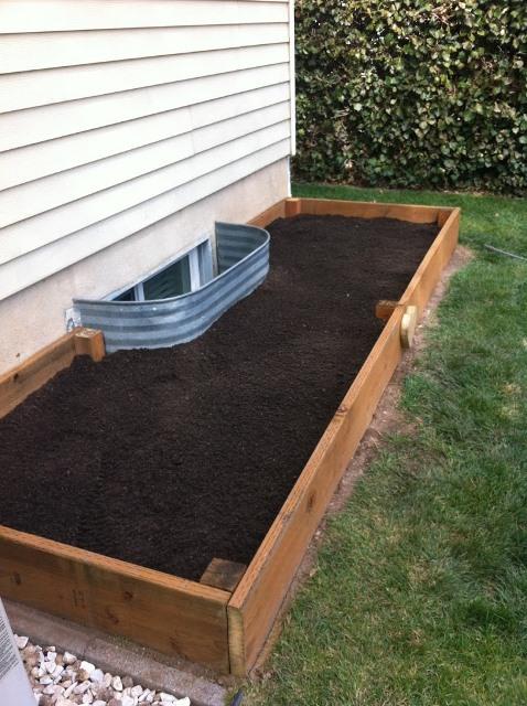 How Build Raised Garden Box Concrete