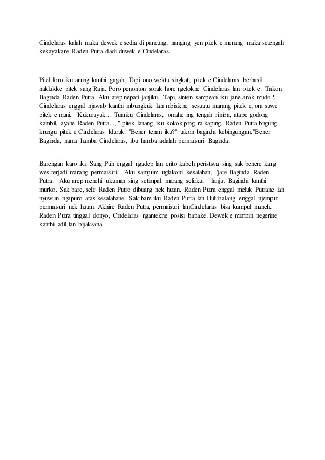 Contoh Cerita Rakyat Bahasa Jawa : contoh, cerita, rakyat, bahasa, Contoh, Cerita, Wayang, Bahasa, Singkat, Sitehardware