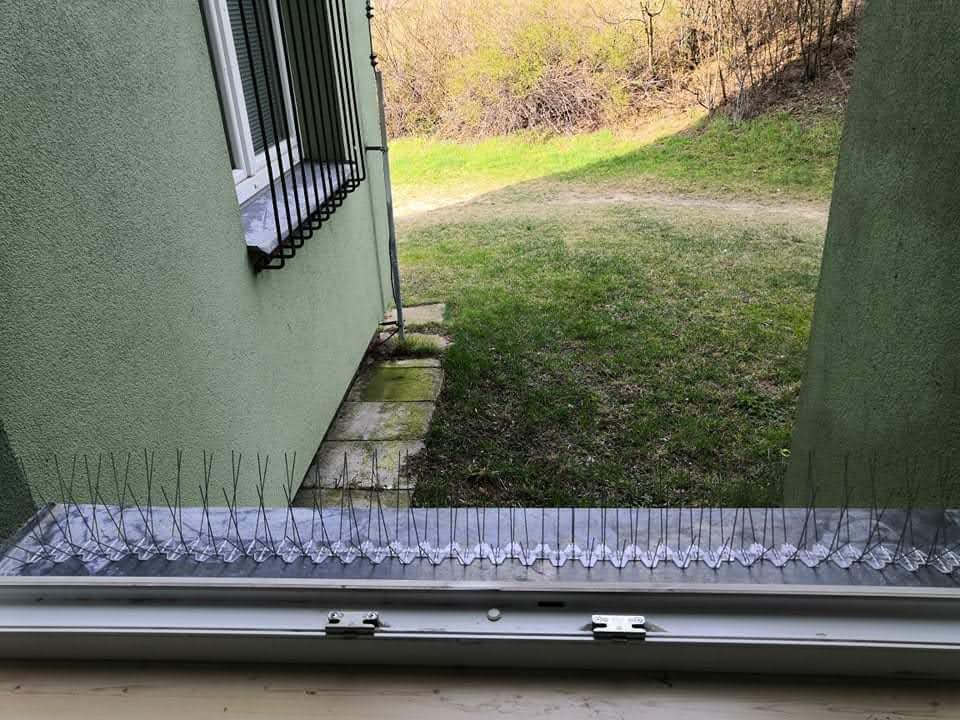 Instalace hrotových zábran Brno