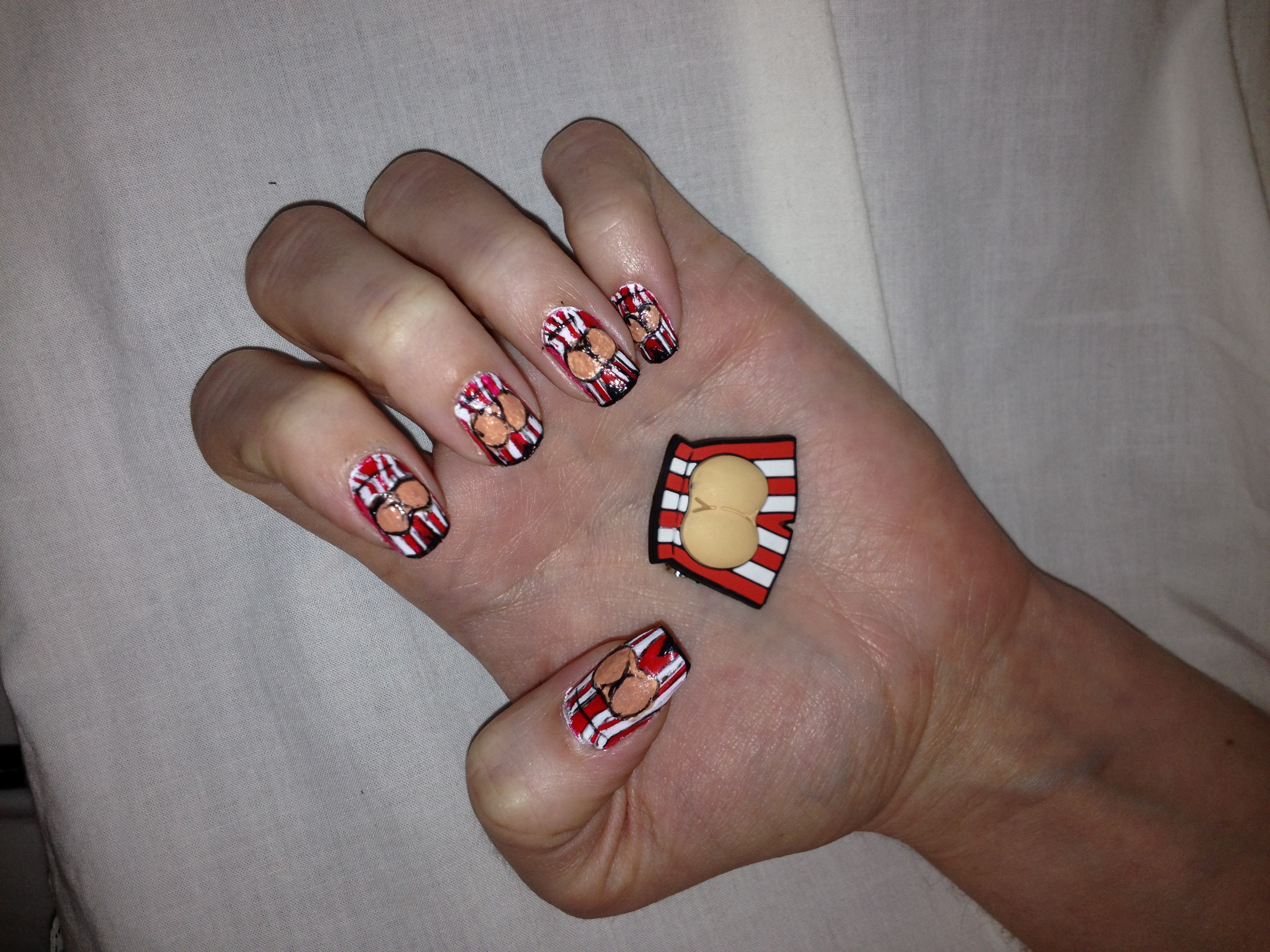 Nail Art For Beating Bowel Cancer Sitemanagergal