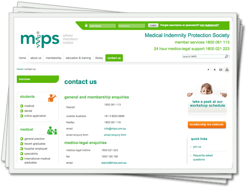 Medical Indemnity Protection Society (MIPS)