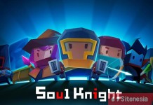 Gambar Cover Download Soul Knight MOD APK Versi Terbaru Unlimited Money Gems Characters Dan Skills Full Unlocked Gratis Untuk Android
