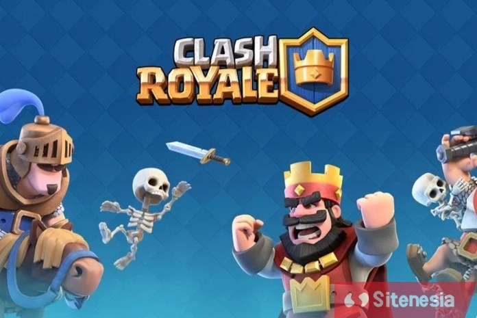 Gambar Game Clash Royale MOD APK Download Unlimited Gold and Gem