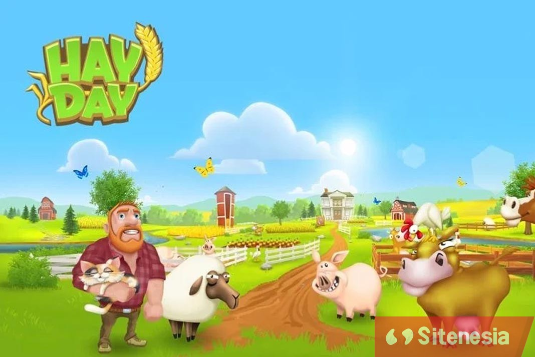 Gambar Cover Game Download Hay Day MOD APK Versi Terbaru Unlimited Money Coins Gems And Seeds Hack Gratis Untuk Android