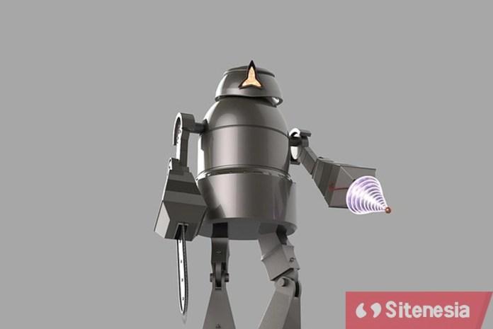 Ilustrasi Gambar Robot Yang Akan Membantu Disabilitas Di Olimpiade Tokyo 2020